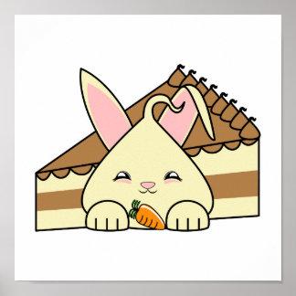 Vainilla Hopdrop y torta Impresiones