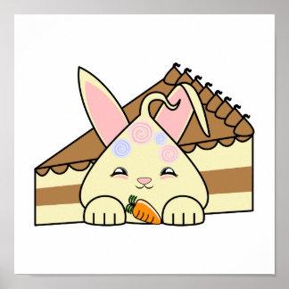 Vainilla rematada caramelo Hopdrop y torta Impresiones