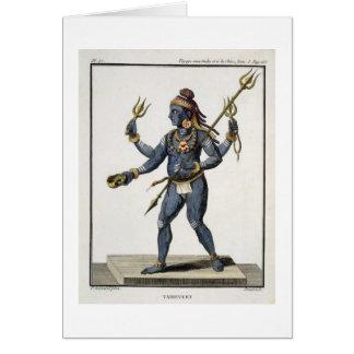 Vairevert, from 'Voyage aux Indes et a la Chine' b Card