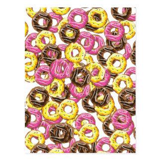 Vairied Doughnuts Post Cards