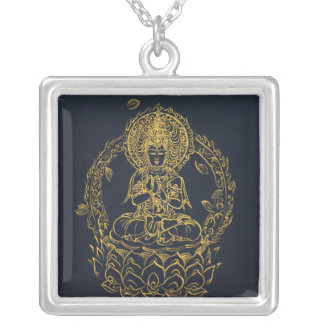 Vairocana Silver Plated Necklace
