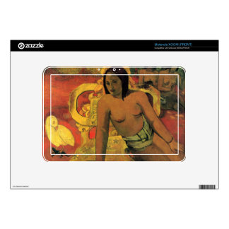 Vairumati by Eugène Henri Paul Gauguin Motorola XOOM Decals