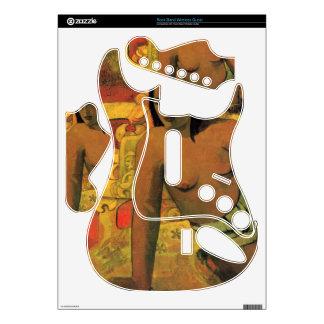 Vairumati by Eugène Henri Paul Gauguin Rock Band Guitar Skins