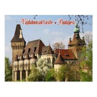 Vajdahunyad Castle, Budapest, Hungary Postcard