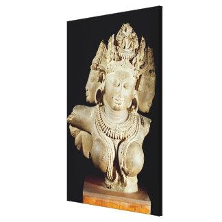 Vajra Tara, dinastía de Gahadavala (piedra arenisc Impresion De Lienzo
