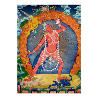 Vajra Yogini Meditation Poster