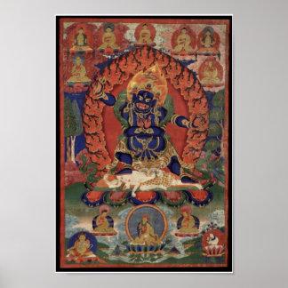 Vajrapani Bhutadamara Poster
