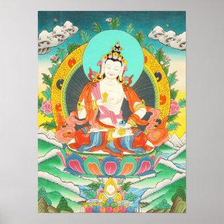 Vajrasattva Thangka Poster