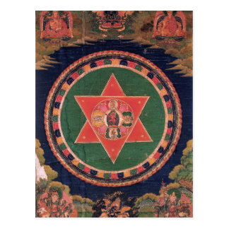 Vajravarahi Vajrayogini Tibetan Buddhist Mandala Postcard