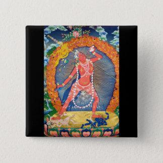 Vajrayogini Dakini Tibetan Button