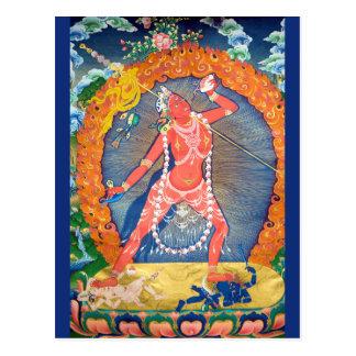 Vajrayogini Tibetan Buddhist Deity Postcard