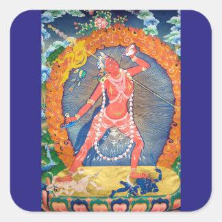 Vajrayogini Tibetan Buddhist Deity Square Sticker