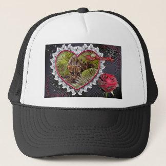 val-bengal-cat-00079-6x4 trucker hat