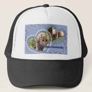 val-bengal-cat-00091-6x4 trucker hat