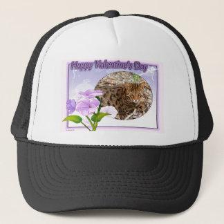val-bengal-cat-00104-6x4 trucker hat