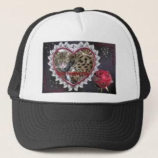 val-bengal-cat-00111 trucker hat