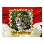 val-bengal-cat-00112-6x4 tarjetas postales