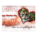val-bengal-cat-00127-6x4 tarjetas postales