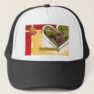 val-bengal-cat-00147 trucker hat
