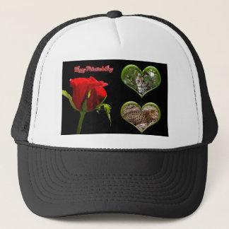 val-bengal-cat-00161-6x4 trucker hat
