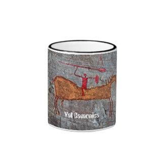 Val Camonica Horse Ringer Mug