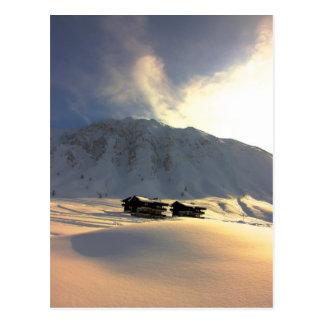 Val Claret Deep Winter Snow Postcard