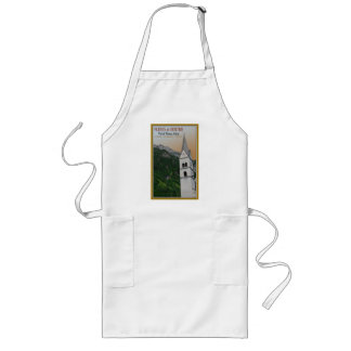 Val di Fleres - Church in the Alps Long Apron