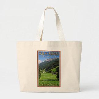 Val di Fleres - prados del verano Bolsas De Mano