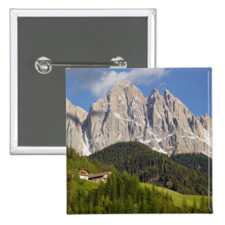 Val di Funes, Villnosstal, Dolomites, Italy Pinback Buttons