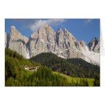 Val di Funes, Villnosstal, Dolomites, Italy Card
