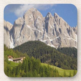 Val di Funes, Villnosstal, Dolomites, Italy Coasters
