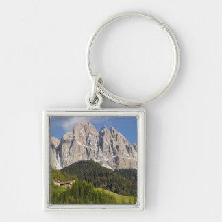 Val di Funes, Villnosstal, Dolomites, Italy Keychain