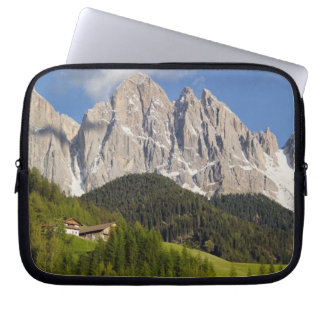 Val di Funes, Villnosstal, Dolomites, Italy Laptop Sleeve