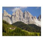 Val di Funes, Villnosstal, Dolomites, Italy Postcard