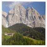 Val di Funes, Villnosstal, Dolomites, Italy Tile
