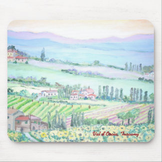 Val d'Orcia, Mousepad