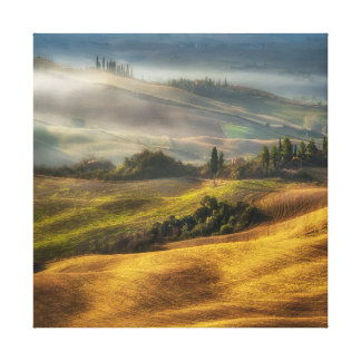 Val d'Orcia, Tuscany landscape Canvas Print