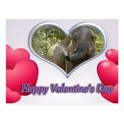 val-elephant-00160-6x4 postal