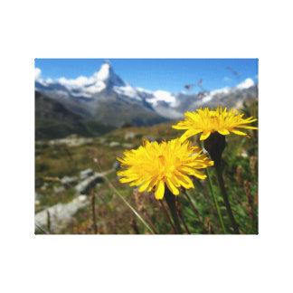 Valais Alps Swiss Canvas Print