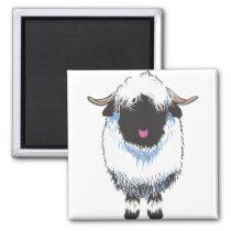 VALAIS BLACKNOSE SHEEP MAGNET
