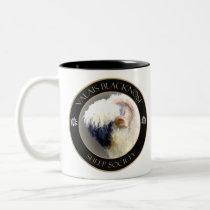 Valais Blacknose Sheep Society Logo Two-Tone Coffee Mug