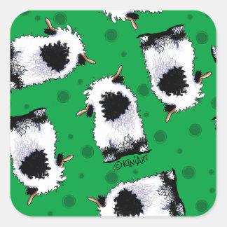Valais Blacknose Sheep Square Sticker