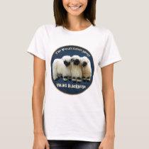 Valais Blacknose - The World's Cutest Sheep! T-Shirt