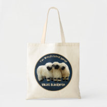 Valais Blacknose - The World's Cutest Sheep! Tote Bag