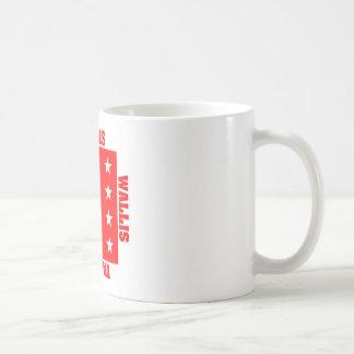 Valais Switzerland Canton Flag Coffee Mug