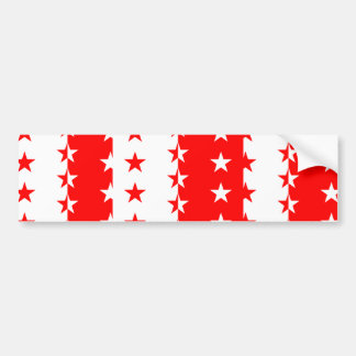 Valais, Switzerland flag Car Bumper Sticker