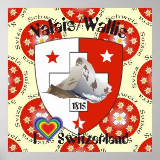 Valais Valais Switzerland Suisse poster