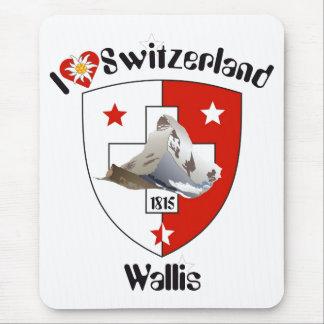 Valais Wallis Suisse Suiza Switzerland Mauspad Tapete De Raton