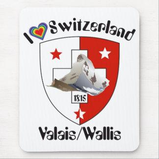 Valais Wallis Suisse Suiza Switzerland Mauspad Alfombrilla De Raton