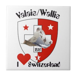 Valais, Wallis Suiza baldosa/ Azulejo Ceramica